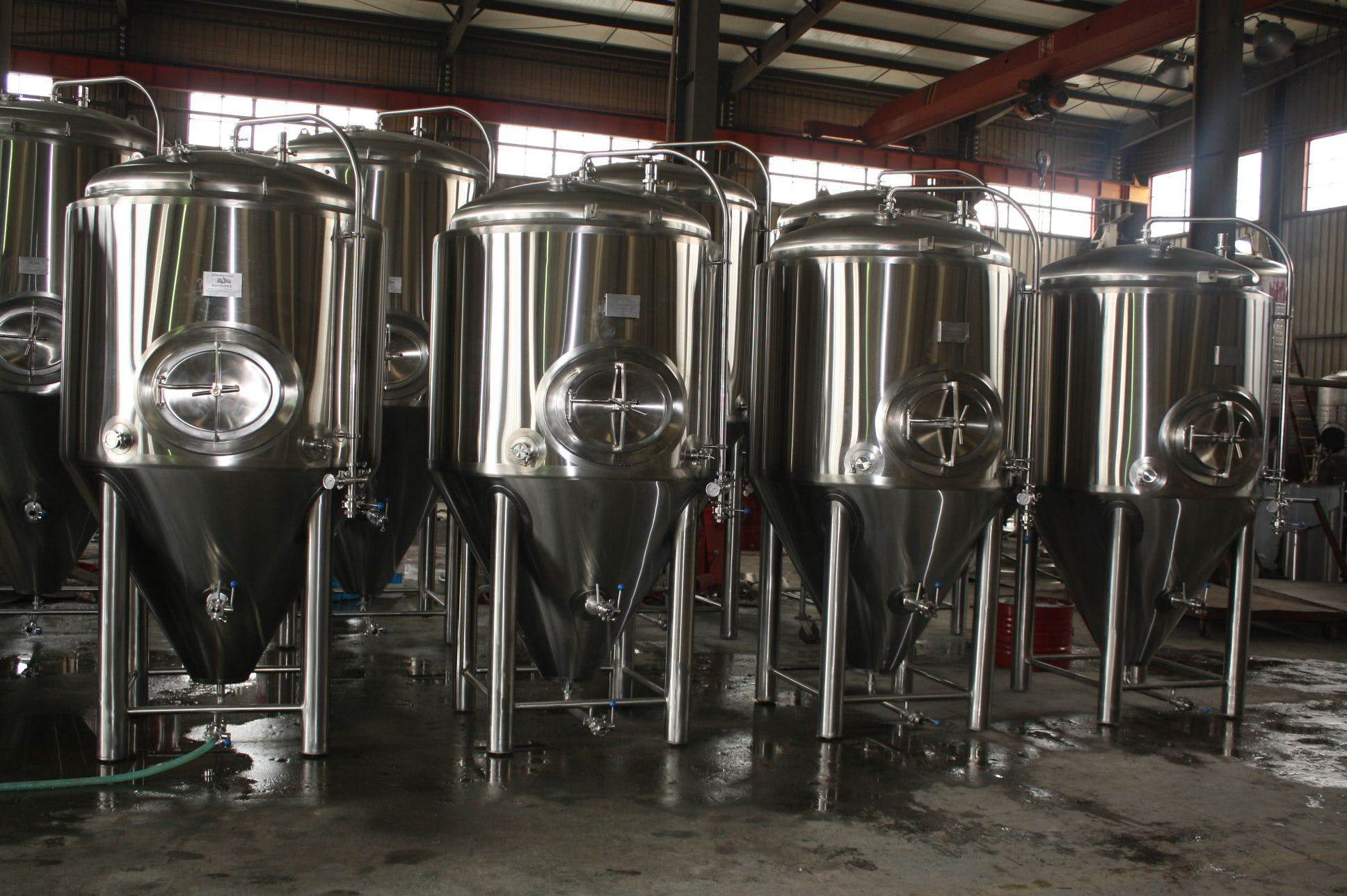 15 bbl fermenters Fermenter sold by Ager Tank & Equipment Co.