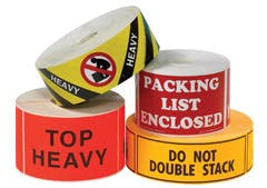 Shipping and Handling Label Bottle label sold by Ameripak, Inc.