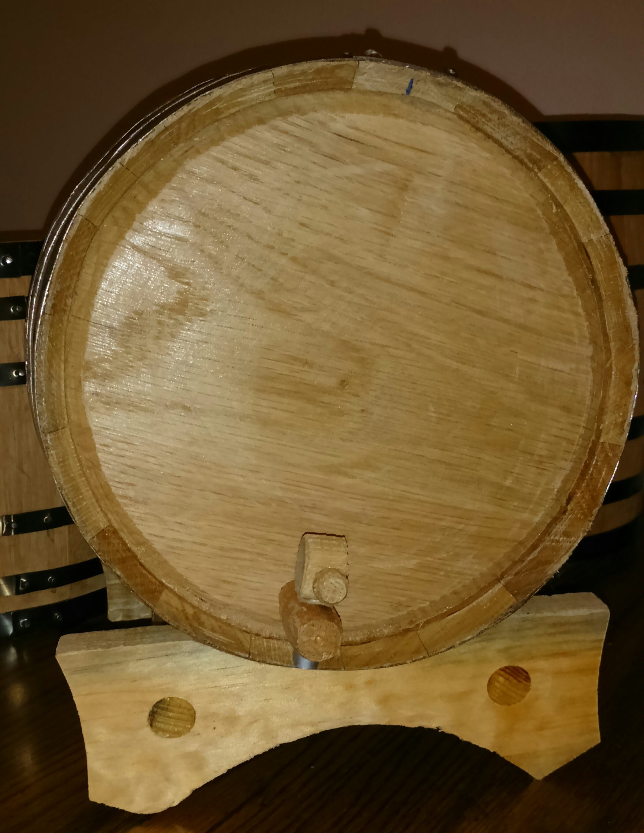Small american white oak aging barrels - sold by The American Barrels