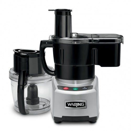 Waring Products WFP16SCD Continuous Feed Food Processor with Batch Bowl, 4 Quarts