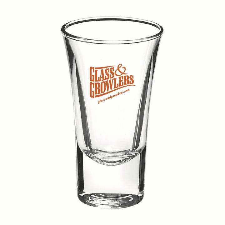 5109 Whiskey Shot 1.875 oz Shot glass sold by Glass and Growlers