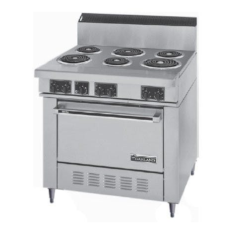 Garland Range S686 Commercial Range, 6 Burner, 1 Oven, 36 Inch, Electric Commercial range sold by Mission Restaurant Supply