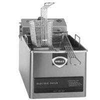 Wells LLF-14-120 - 14 lb Fryer - No Legs Commercial fryer sold by Prima Supply