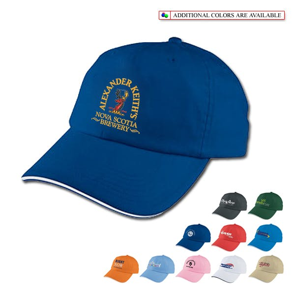 Sport Sandwich Cap Promotional cap sold by MicrobrewMarketing.com