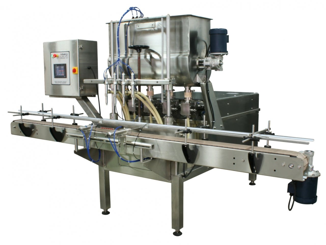 Piston Filler - Model TruPiston-4 Bottle filler sold by ACASI Machinery