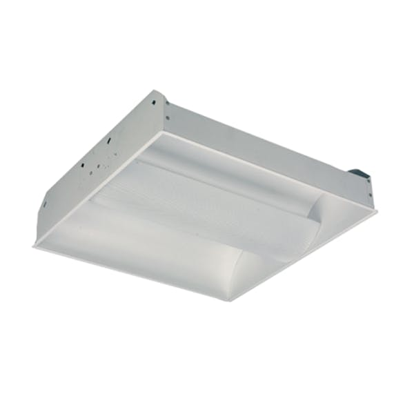 3 Lamp 32W T8 Center Basket Recessed Indirect - sold by RelightDepot.com