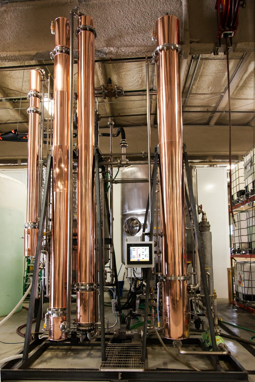 CF-1000 Continuous Flow Still Distillation still sold by Headframe Spirits Manufacturing