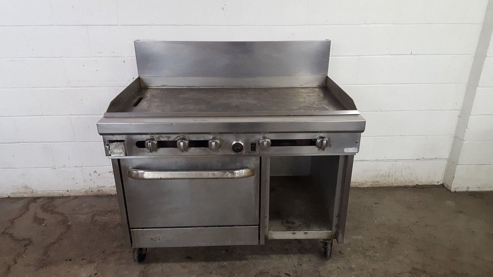 Southbend Full Size Oven Under Storage Grill Natural Gas 548DC-4G Tested