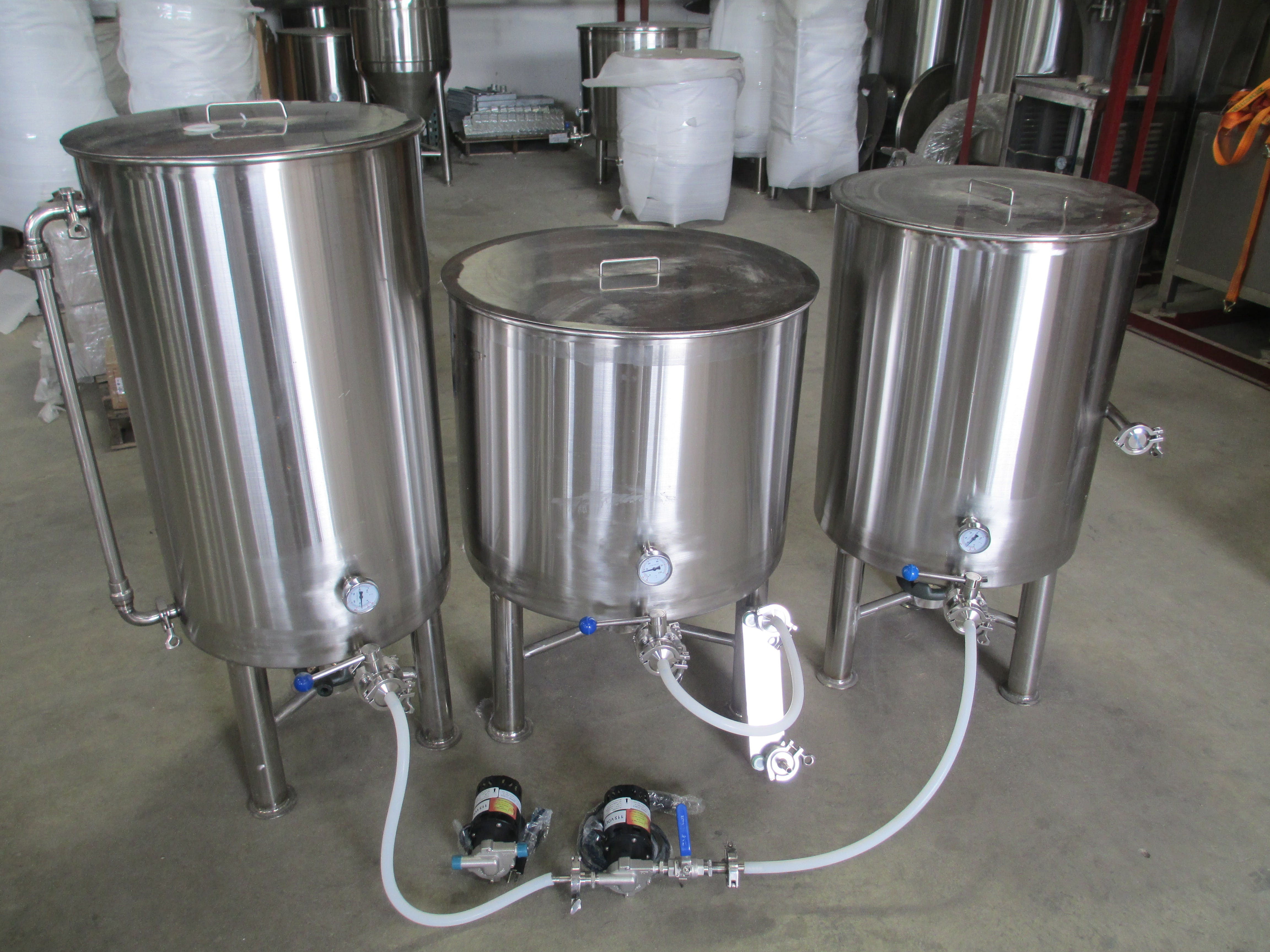 Pilot Systems - 1BBL, 2BBL  gas fired and electric Brewhouse sold by brewery Direct