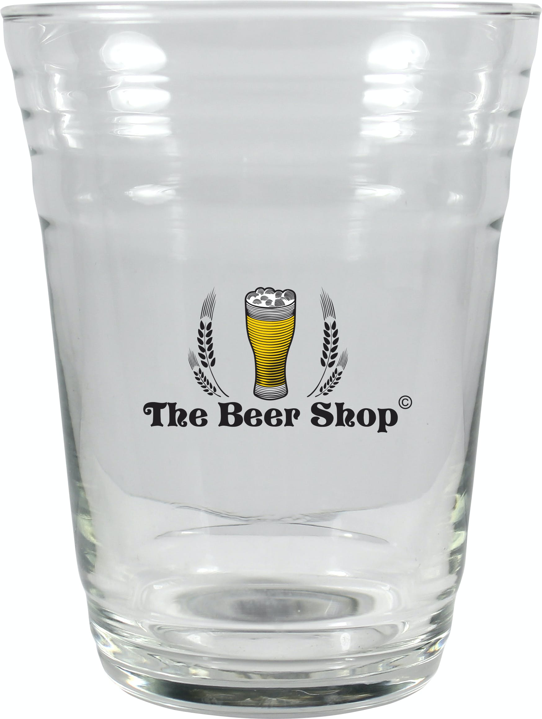 16 oz Glass Party Cup Beer glass sold by Prestige Glassware