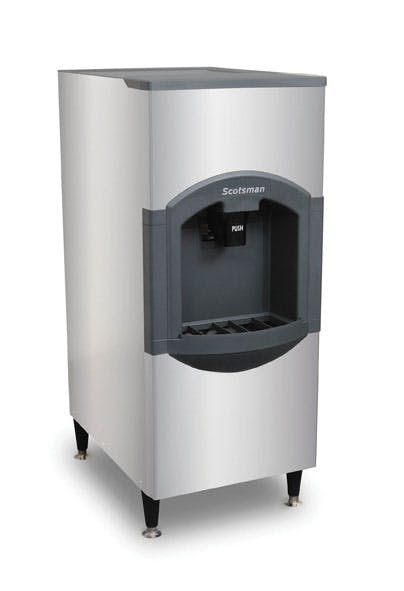 Scotsman iceValet Hotel/Motel Ice Dispenser - approx. 120lb./59kg capacity Ice dispenser sold by TheRDStore.com