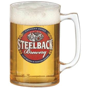 16oz / 18oz Smooth Wall Plastic Mug Beer glass sold by Luscan Group