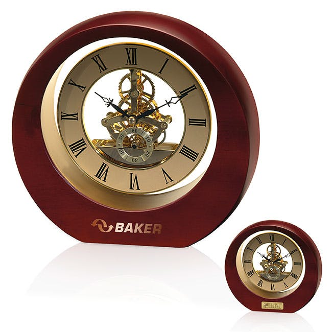 Solstice Award Clock by Jaffa® Award sold by Distrimatics, USA
