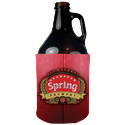 Growler Scuba Coolie - Growler sleeve sold by All Creative Promotional Plus LLC