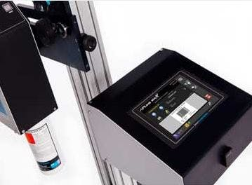 UBS MRX - Inkjet Printer - United Barcode Systems - Model APLINK MRX - Case Inkjet Printer for Porous Surfaces - sold by Package Devices LLC