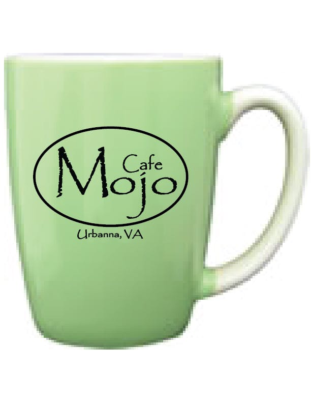 481-02/232-02C - Mint Green Out, White In, 12.5 oz Canaveral Endeavor Mug Ceramic mug sold by ARTon Products