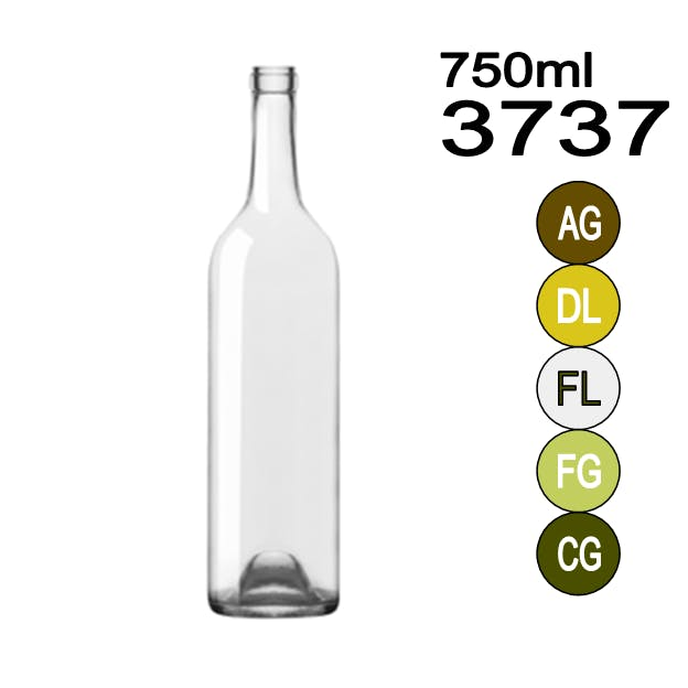 #3737 Wine bottle sold by Wholesale Bottles USA