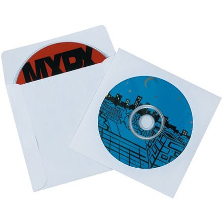 Paper Windowed CD Sleeves Paper packaging sold by Ameripak, Inc.