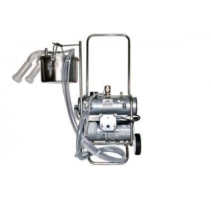 Single Belly Pail Goat Milking Machine Milking machine sold by Homesteader's Supply