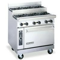 "American Range AR10-SU - 60"" Step-up Burner Range + 2-26.5 Oven"