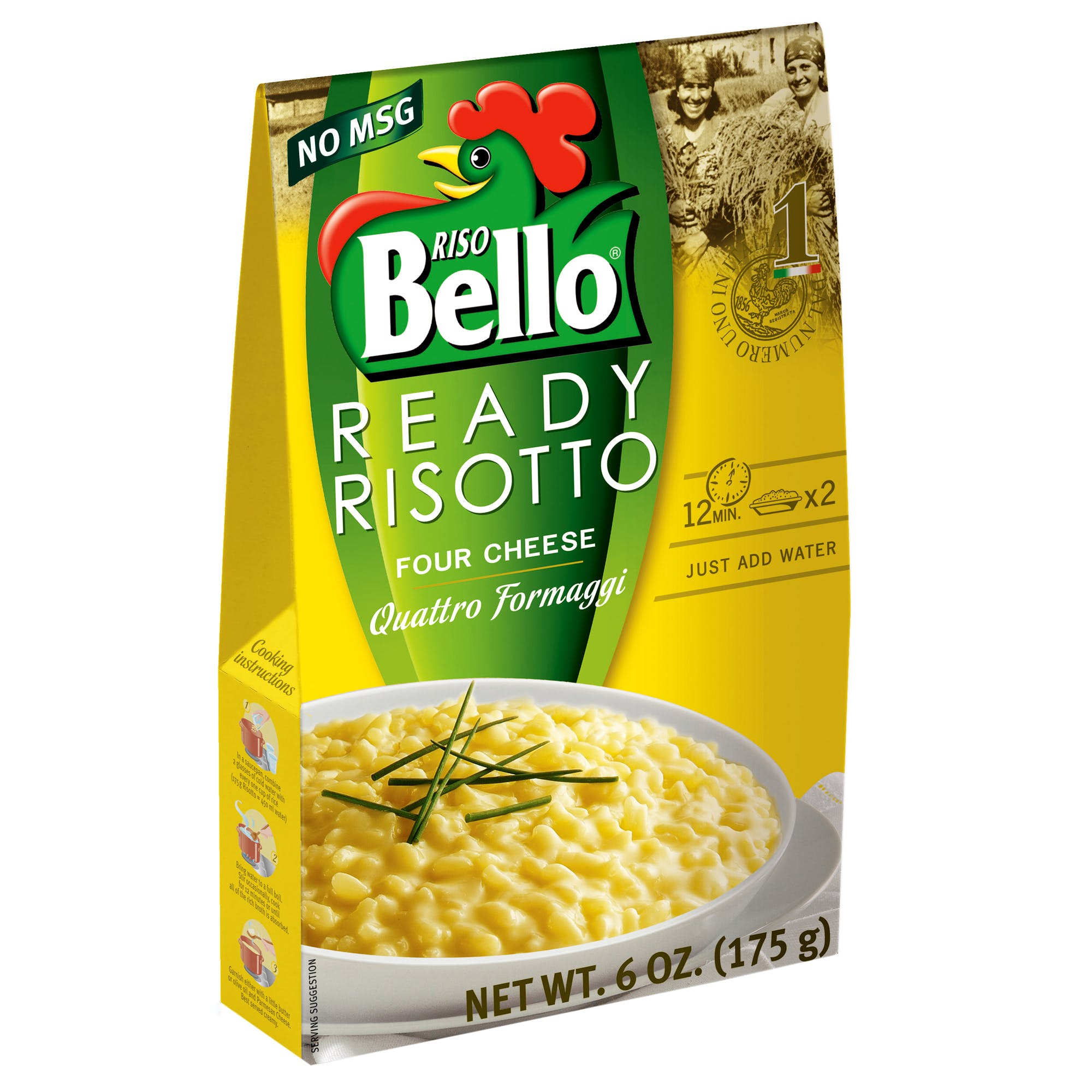 Four Cheese Ready Risotto
