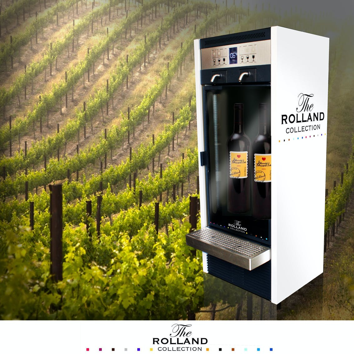 2 Bottle System - sold by By The Glass