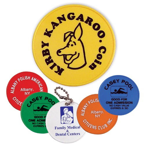 Round Token (Item # MFKHS-BPGAZ) Promotional token sold by InkEasy