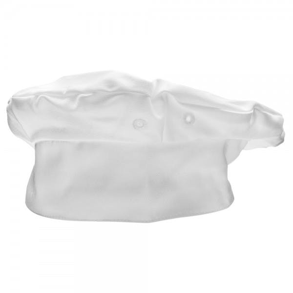 White Beret Chef Hat