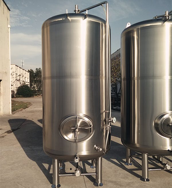 3000L Single Wall Brite Tanks Bright tank sold by TD Tanks, LLC