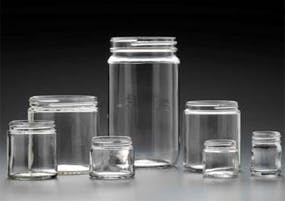 Straight Sided Jars Glass Jar sold by Kaufman Container Company