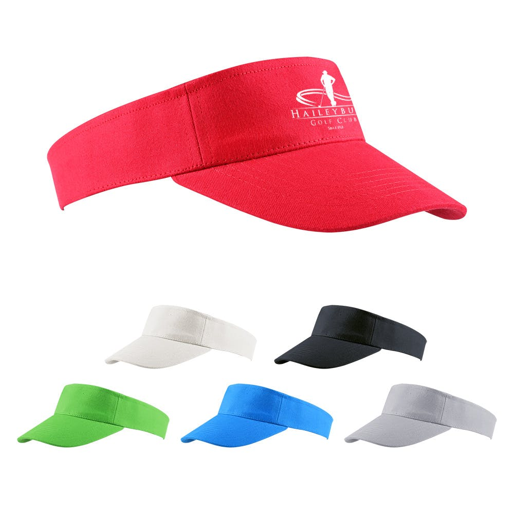 Cotton Visor Cap (Item #CEFOP-ISEJK) Promotional cap sold by InkEasy