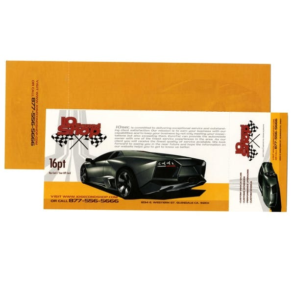 Flyer with Tear Off Perforation (Item # MEMMR-HHFXE) Promotional Paper Product sold by InkEasy