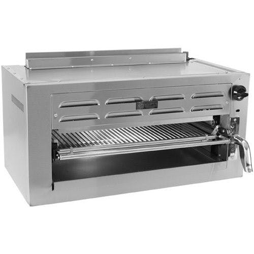 Wolf C36RB Salamander Broiler Radiant, 36 Inch, Gas Broiler sold by Mission Restaurant Supply