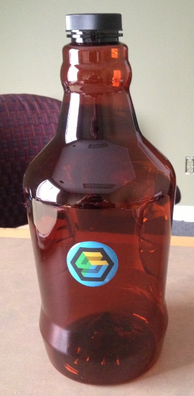 Plastic Growlers Growler sold by Professional Gifting