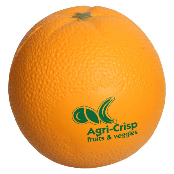Ariel :: Orange - LFR-OR05 Stress reliever sold by Distrimatics, USA