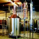 600 gallon Still with a side Column and Condenser - Distillation still sold by Global Stainless Systems Inc.