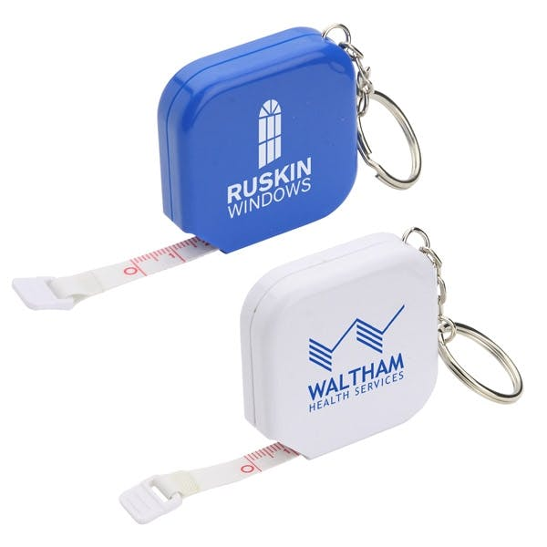 Tape Measure Keychain (Item # DCNPS-IBGSJ) Promotional keychain sold by InkEasy