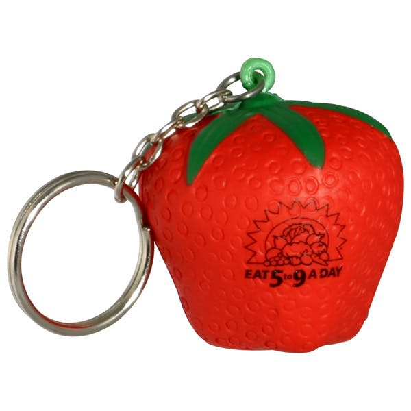 Ariel :: Strawberry Key Chain - LKC-SW08 Stress reliever sold by Distrimatics, USA