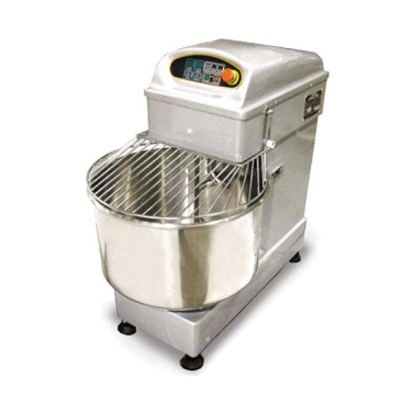 Omcan HS50DA Spiral Dough Mixer (44 lb capacity) - sold by pizzaovens.com