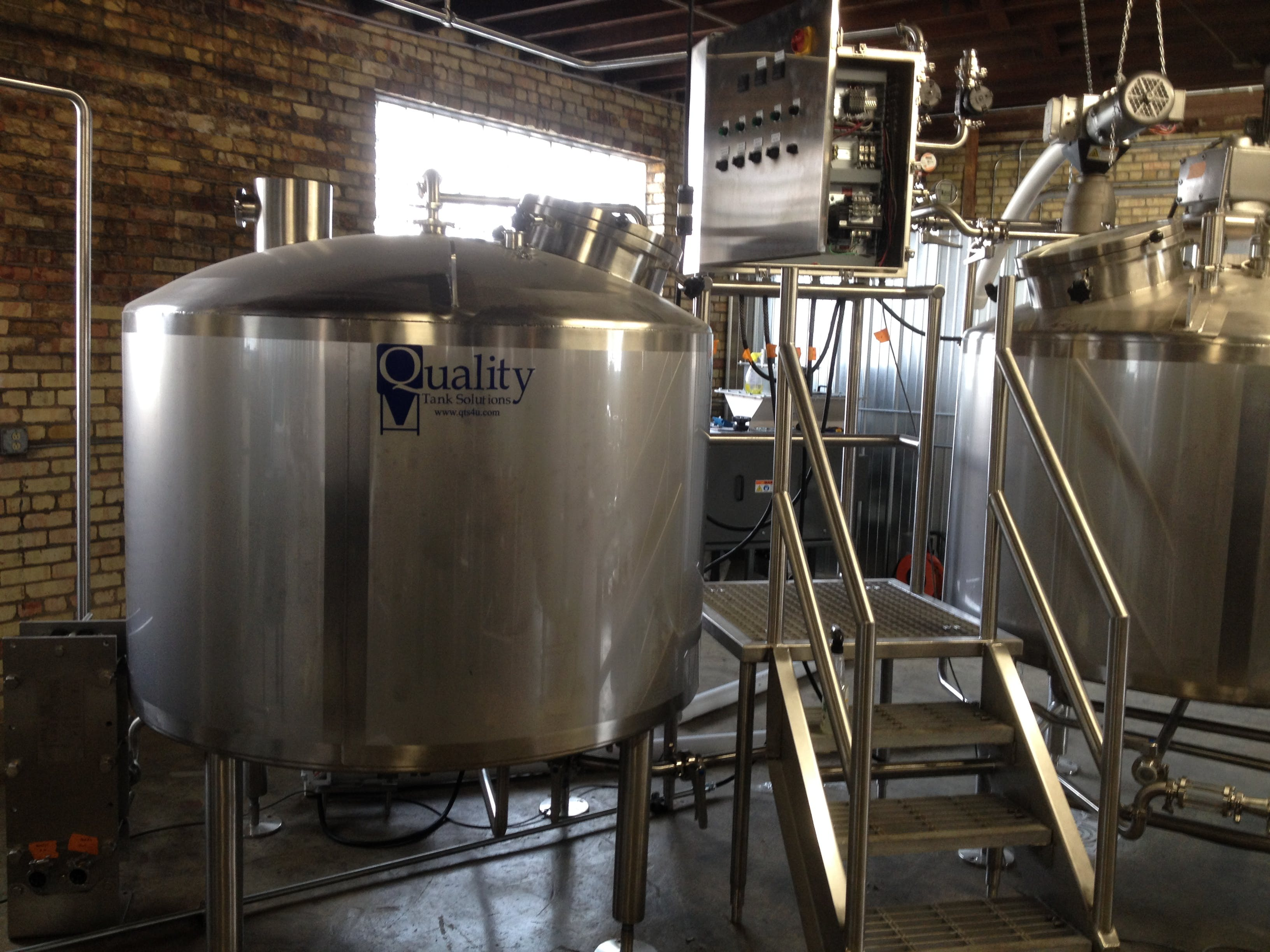 Brew Kettle - sold by Quality Tank Solutions