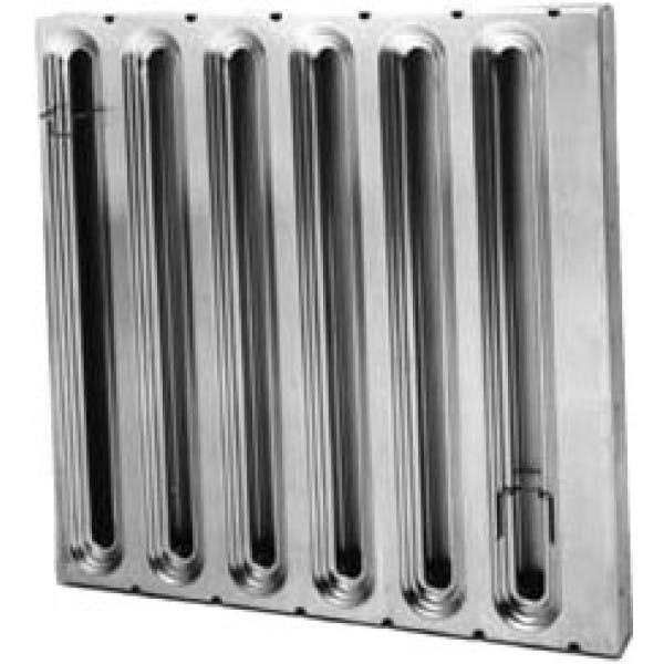 "20"" x 20"" Galvanized Grease Exhaust Baffle Filter"