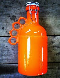 """Peacemaker in orange.  - """"The Peacemaker"""" - sold by Goose Creek Growler Co."""