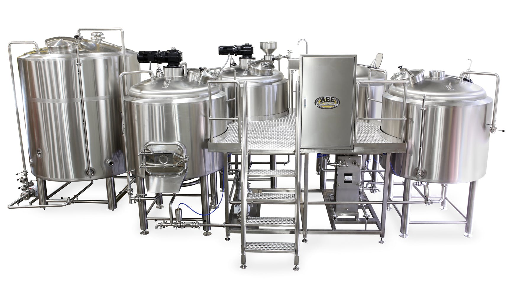15 bbl 4 vessel Brewhouse  Brewhouse sold by American Beer Equipment