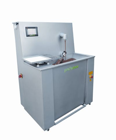 NEW PREFAMAC CONTINUA STAINLESS STEEL 30-KG AND 60-KG CAPACITY MELTERS Chocolate temperer sold by Union Standard Equipment Co