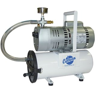 Mini PortaMilker with Electric Motor Vacuum pump sold by Simple Milking Equipment