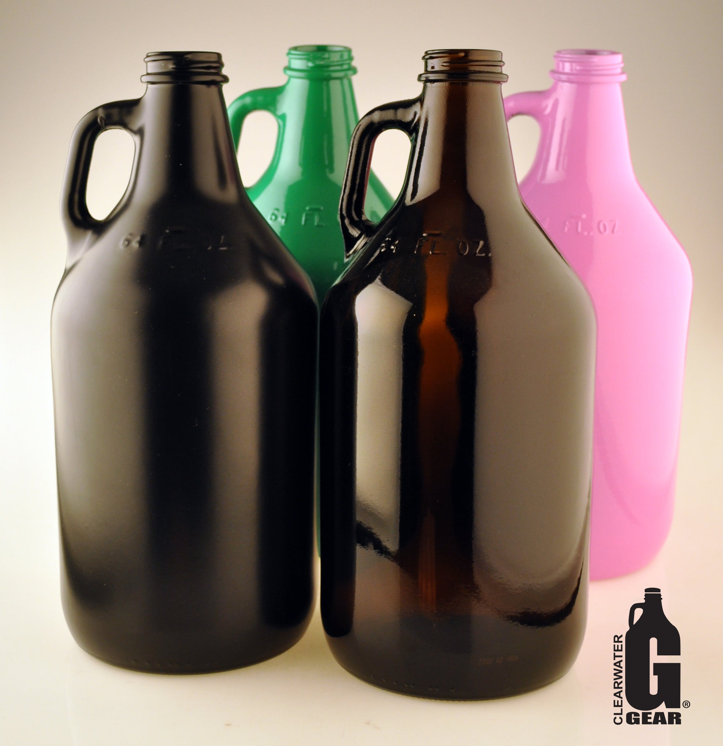 64 oz Amber Growlers Growler sold by Clearwater Gear