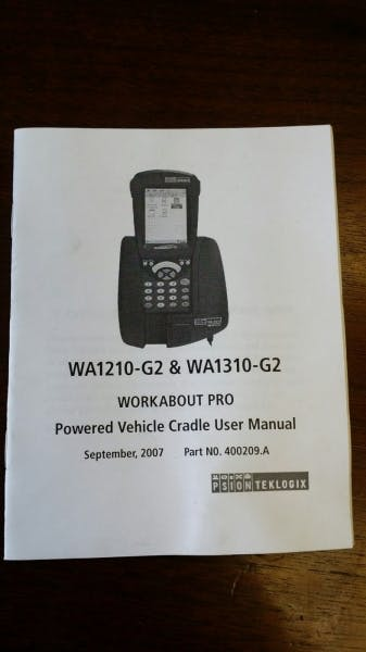 PSION TEKLOGIX WA1210-G2 Charger (NEW) - sold by Aevos Equipment