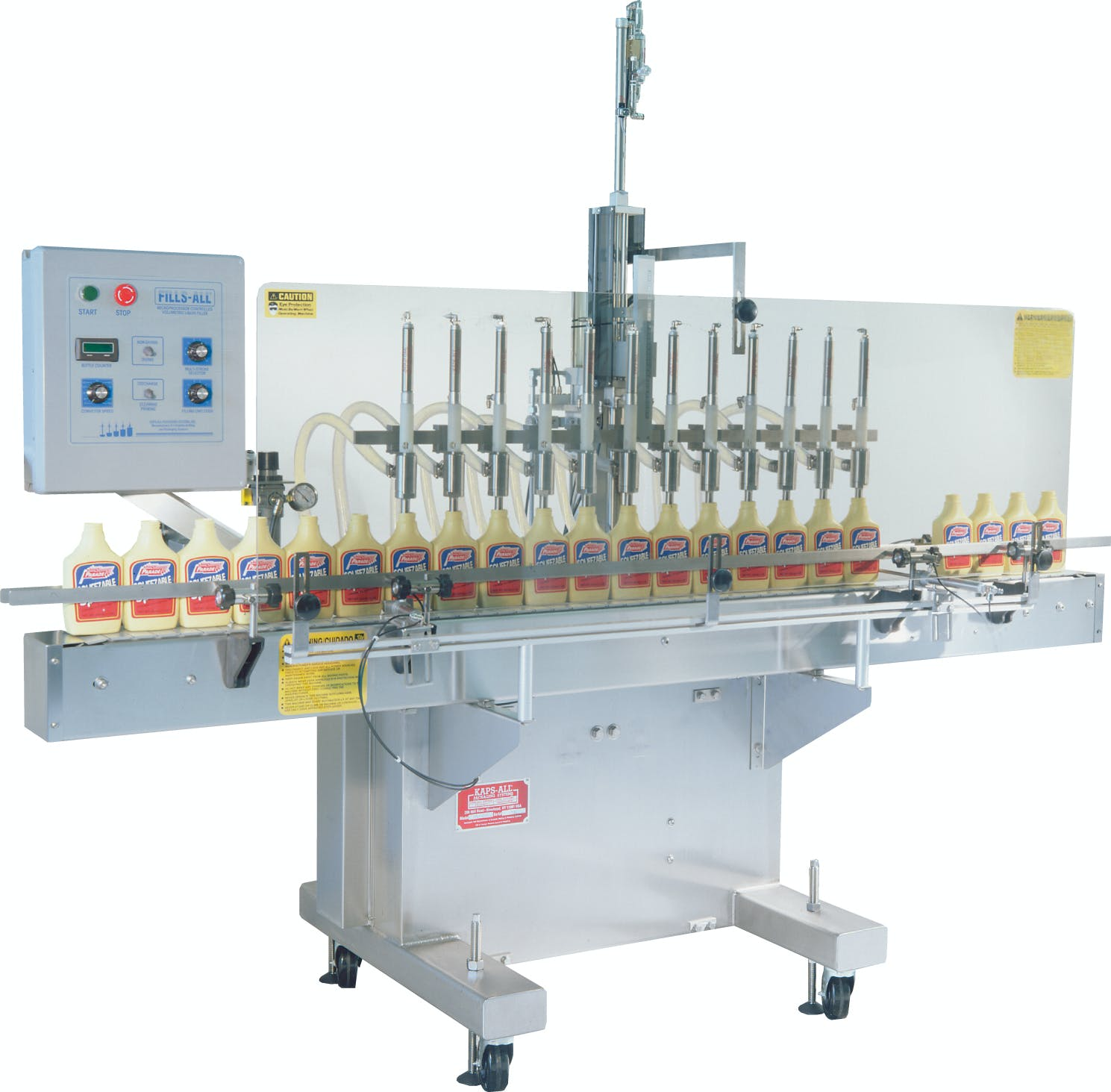 VOL-32 Volumetric Piston Filler Bottle filler sold by Kaps-All Packaging Systems, Inc.