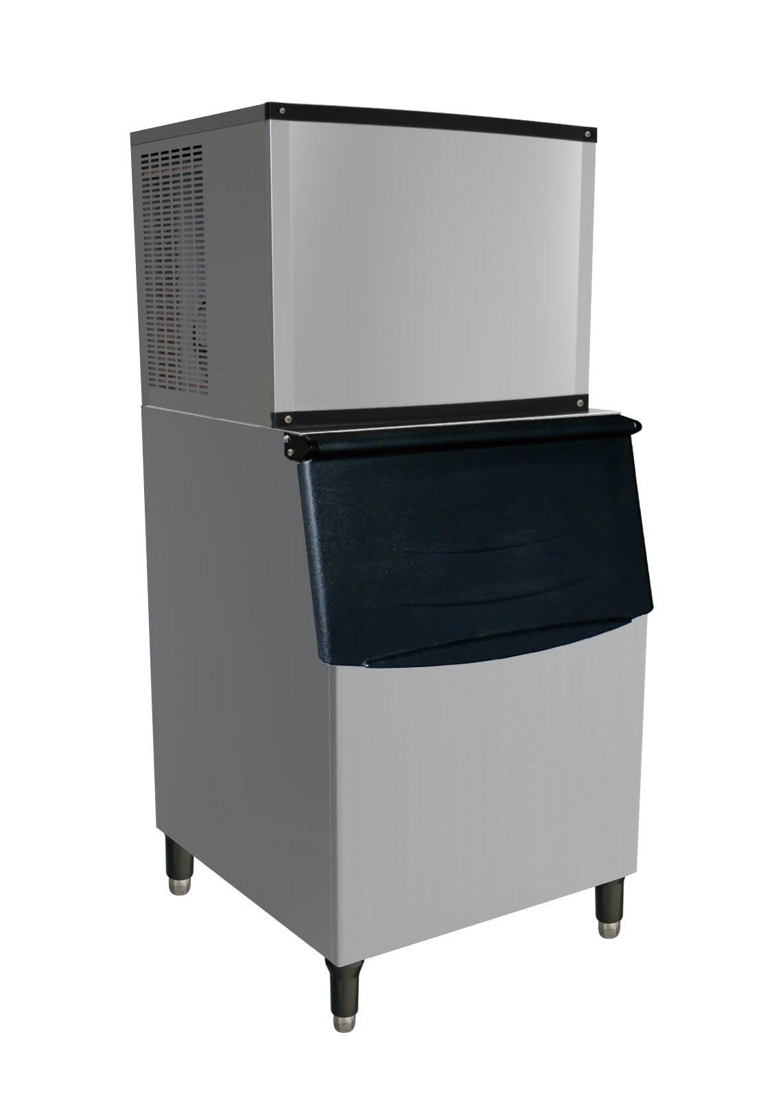 Valpro VPIM420 - 420 lbs. Full Cube Ice Maker - Air Cooled - 244 lbs. Ice Bin Included