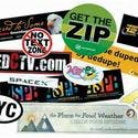 "Stik-withit Bumper Sticker (3""X5"") - Promotional sticker sold by Dechan, Inc. II"